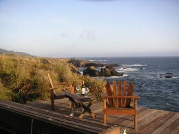 porch at sea ranch