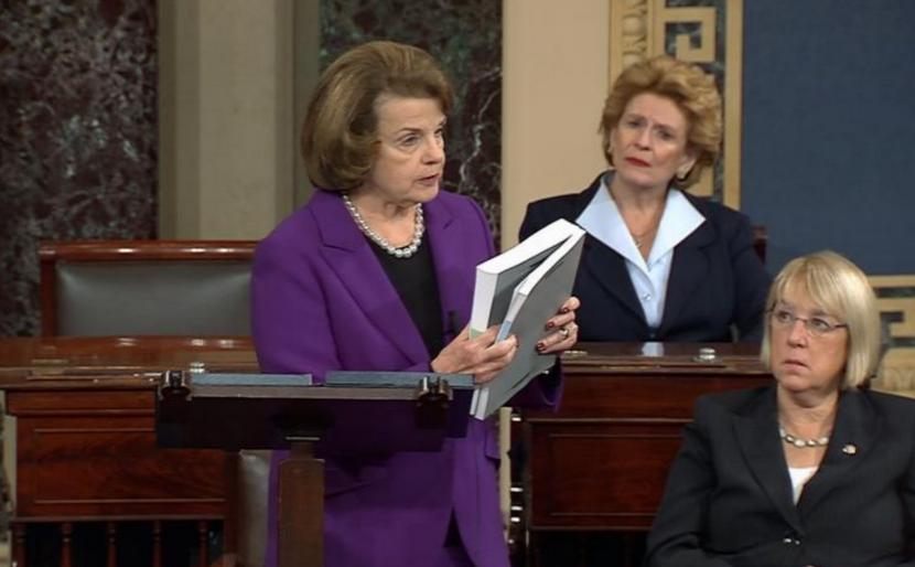 Feinstein reading torture report