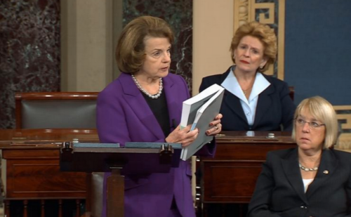 Feinstein reading torture report